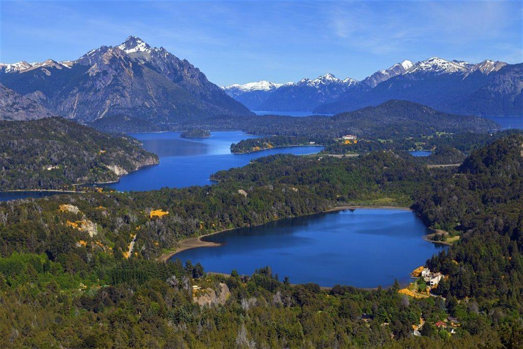 7 lakes in Bariloche, Argentina