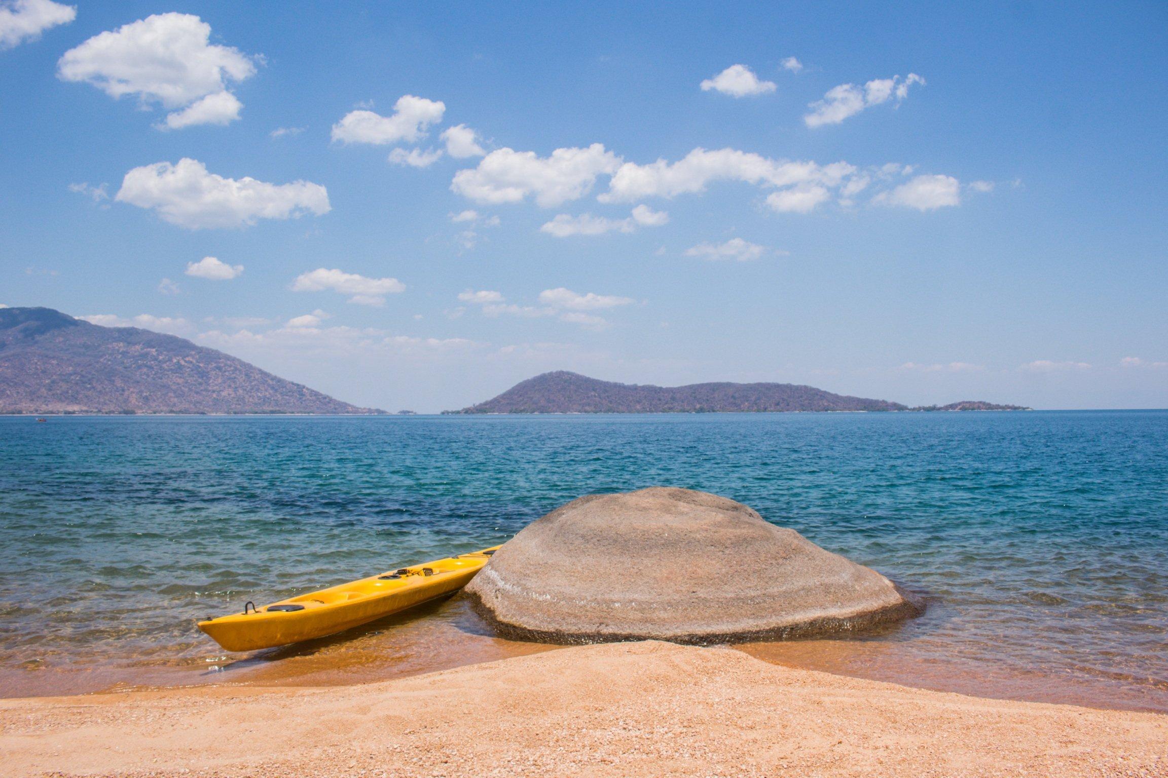 Domwe Island kayaks