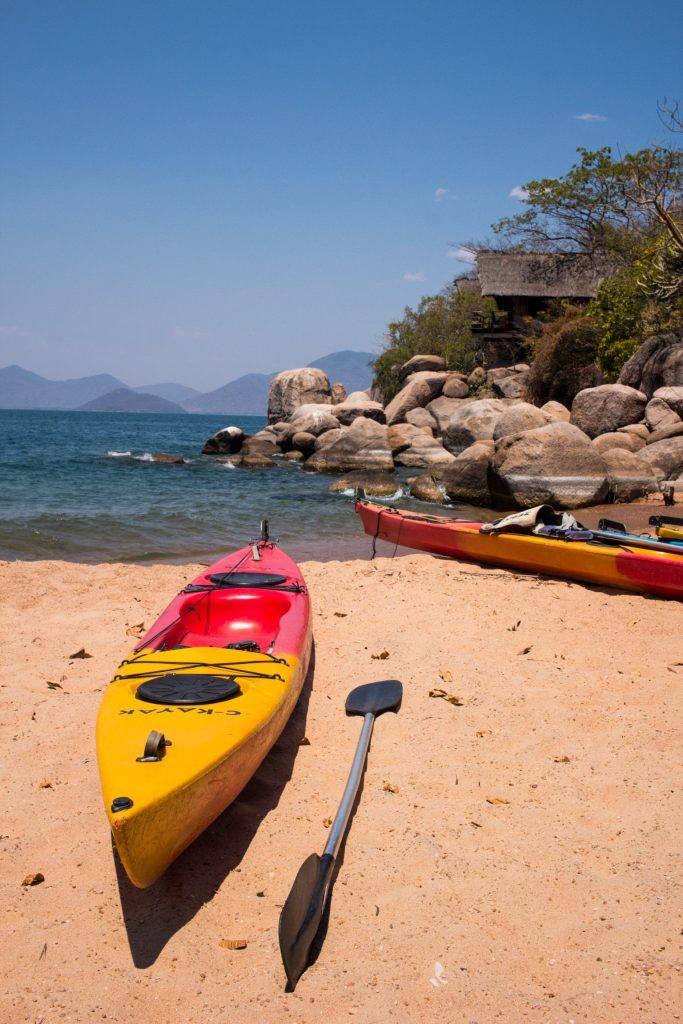 Kayaking at Mumbo Island