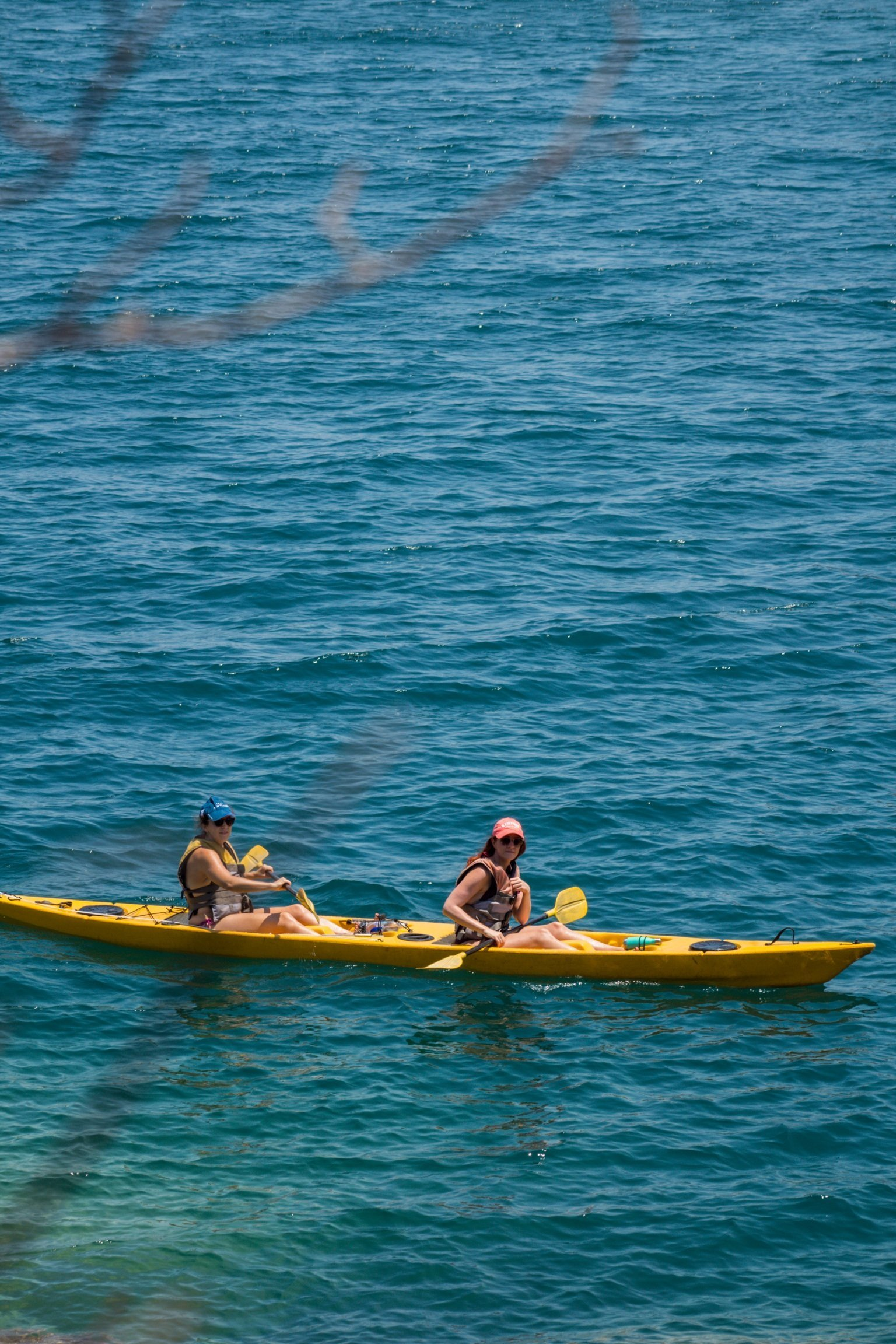 Kayaking on Lake Malawi