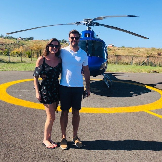 Take a helicopter ride over Volcano (Piton de la Fournaise) on Reunion island for an incredible experience you'll never forget!