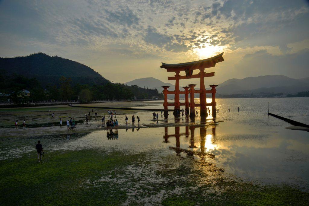 Torii gate in Hakone