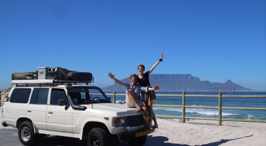 Overland adventure in South Africa