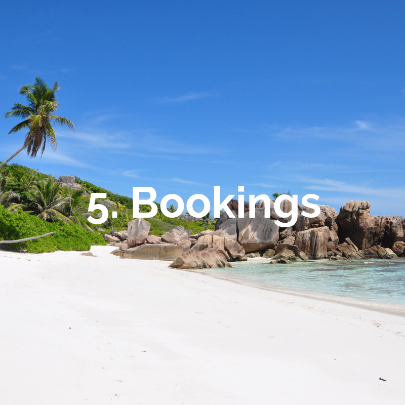 Step 5 of How It Works - bookings