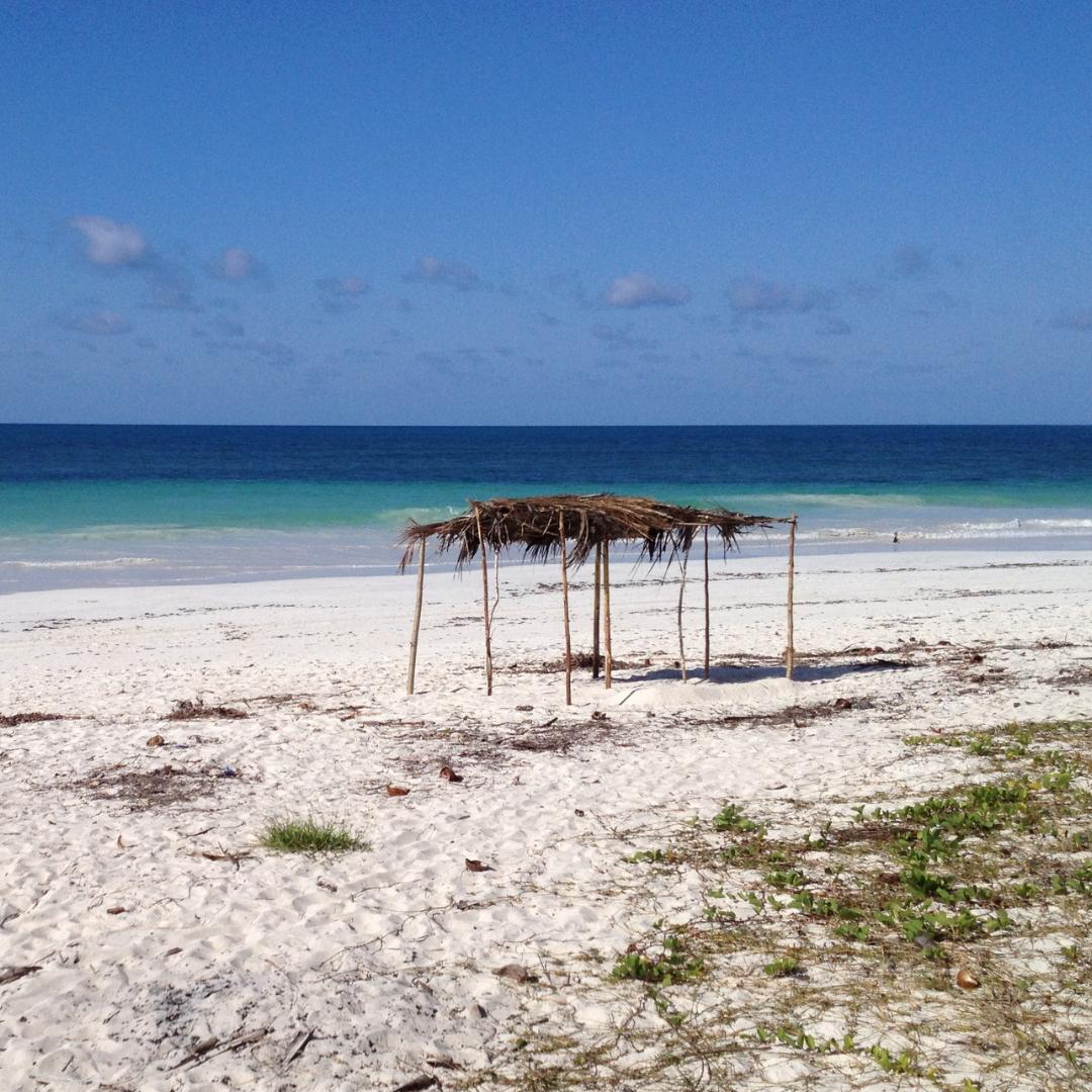 Mozambique coastline