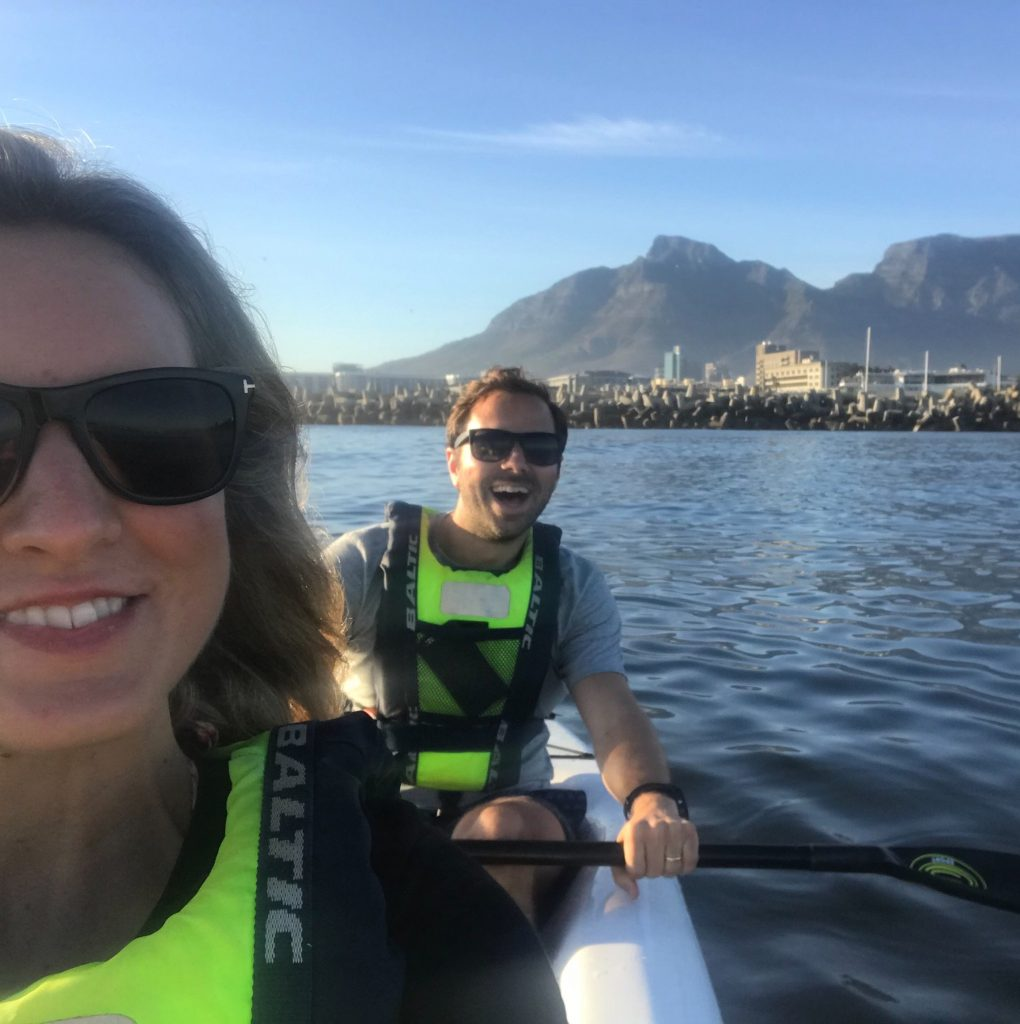 Faraway in Cape Town - kayaking with Atlantic Outlook